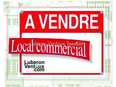 Local commercial Le Thor 1/1
